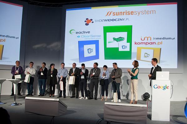 Wielki Konkurs Google dla Agencji - rozdanie nagród 2012