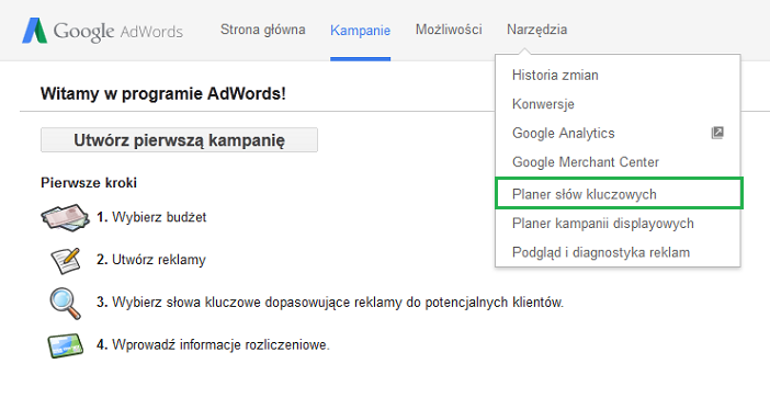 system Google AdWords
