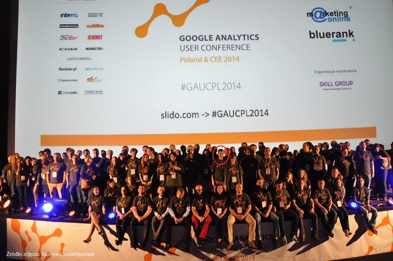 zdjęcie z user conference
