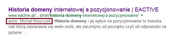 Google Authorship bez zdjęcia