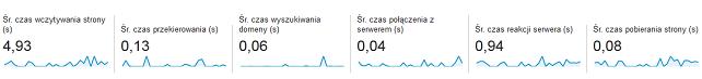 szybkość witryny