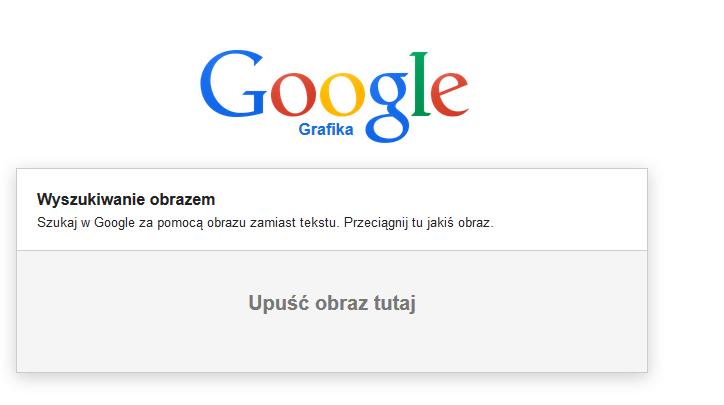 wyszukiwarka obrazów google