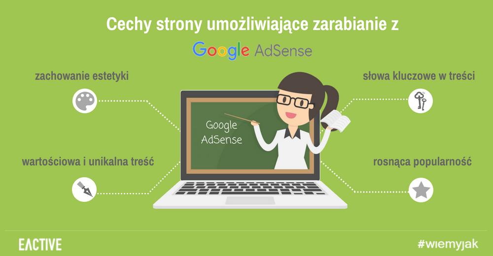 Jak zarabiać zGoogle AdSense