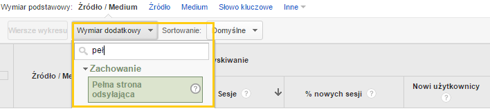 screen Google Analitycs