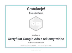 dominik-certyfikat-reklama-wideo