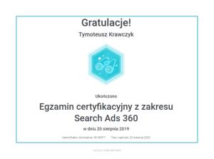 tymoteusz-certyfikat-search-ads-360