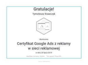 tymoteusz-certyfikat-reklama-w-sieci-reklamowej