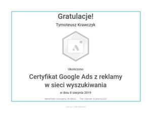 tymoteusz-certyfikat-reklama-w-sieci-wyszukiwania