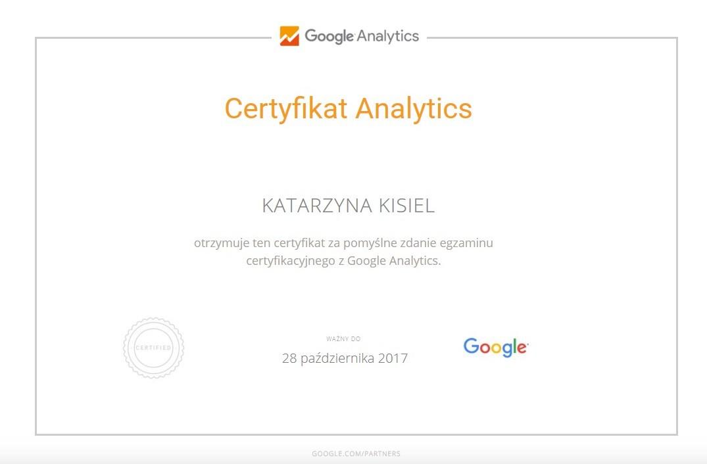 Analytics K.Kisiel