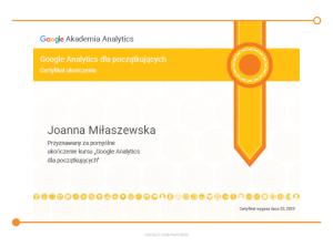 Joanna-Miłaszewska-Analytics- Podstawowy