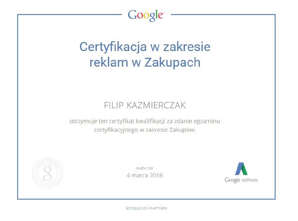Zakupy google FilipK