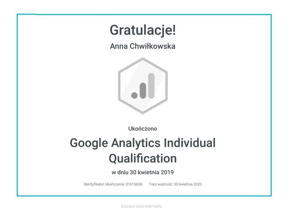 ania-certyfikat-google-analytics