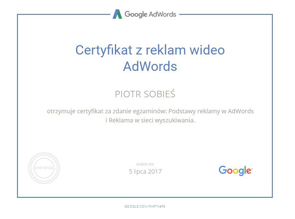 certyfikat-piotr-reklamy-wideo
