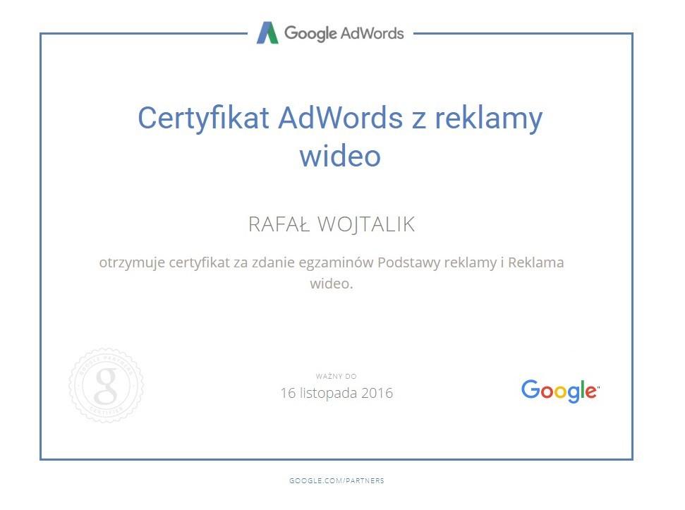 certyfikat-rafala-reklama-wideo