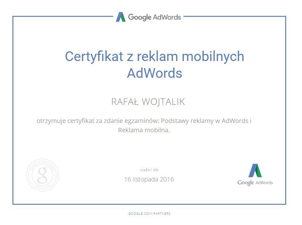 certyfikat-reklama-mobilna-rafał