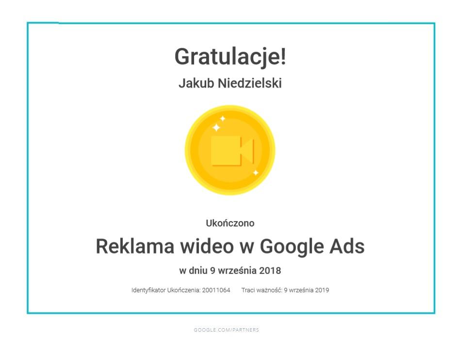 kuba_certyfikat_reklama_wideo