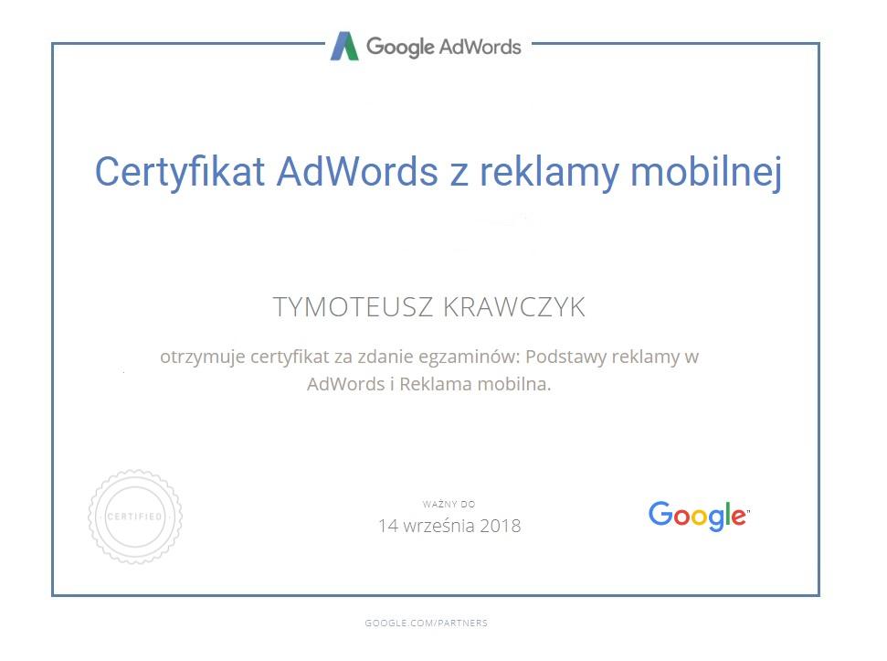 reklama-mobilna-certyfikat