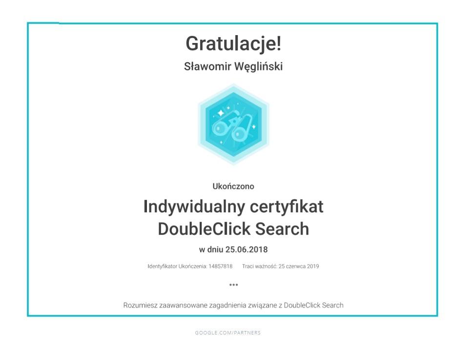 sławek_doubleclick_certyfikat