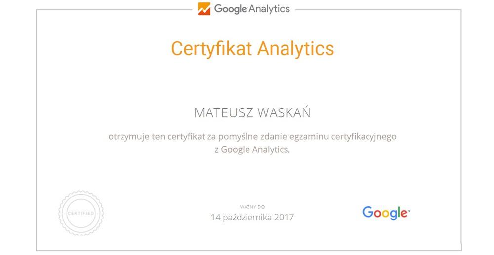 google-analytics-certyfikat