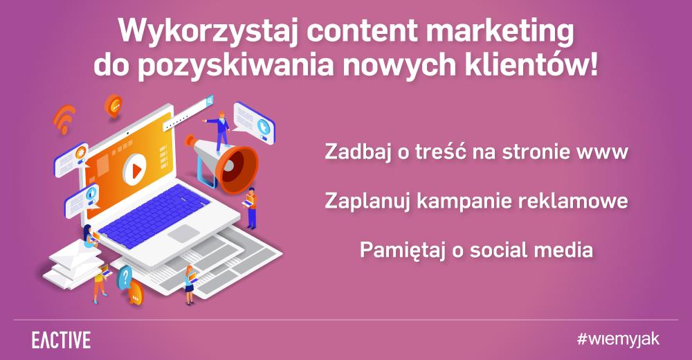 Pozyskiwanie klientów i content marketing