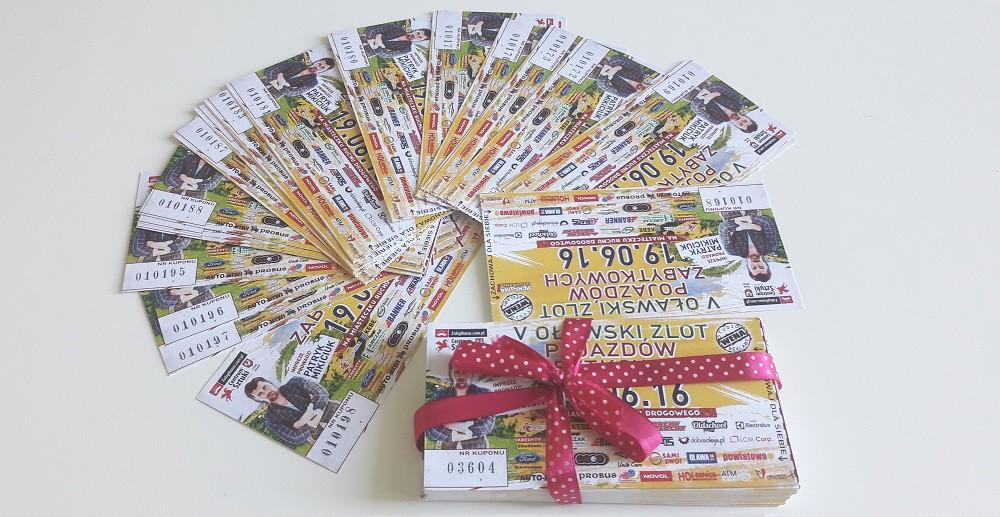 Wzięliśmy udział wspecjalnej loterii na Zlocie Pojazdów Zabytkowych!