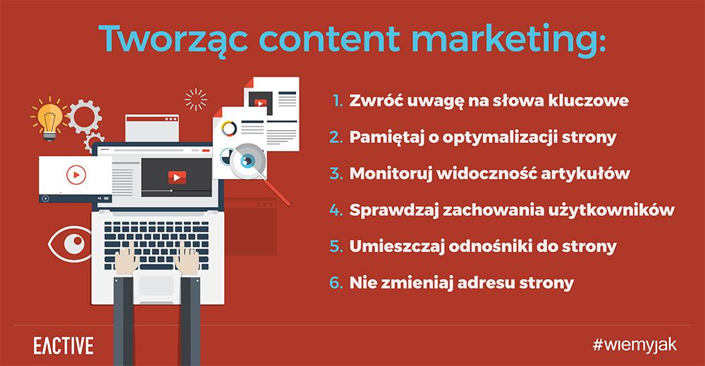 Porady dla content marketerów
