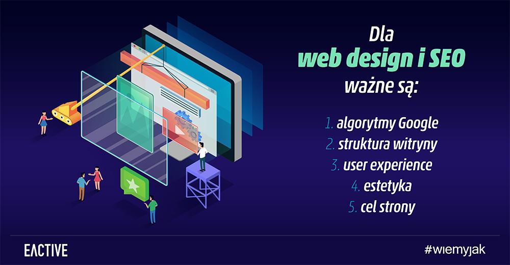 web design i seo wspólne cele
