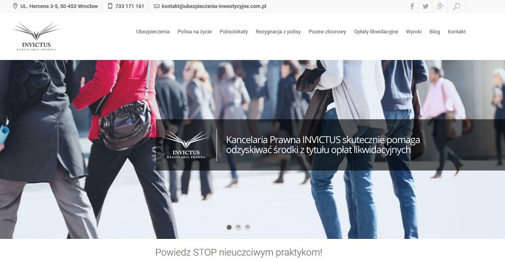 analityka internetowa dla ubezpiecznia-inwestycyjne.com.pl