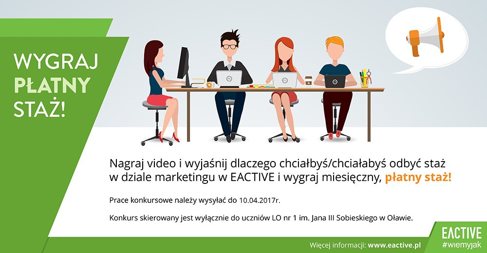 staż w dziale marketingu eactive