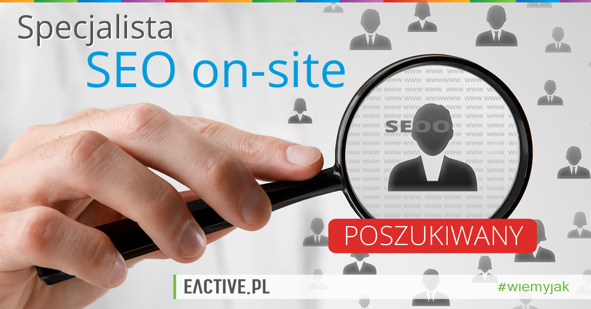 specjalista seo on site