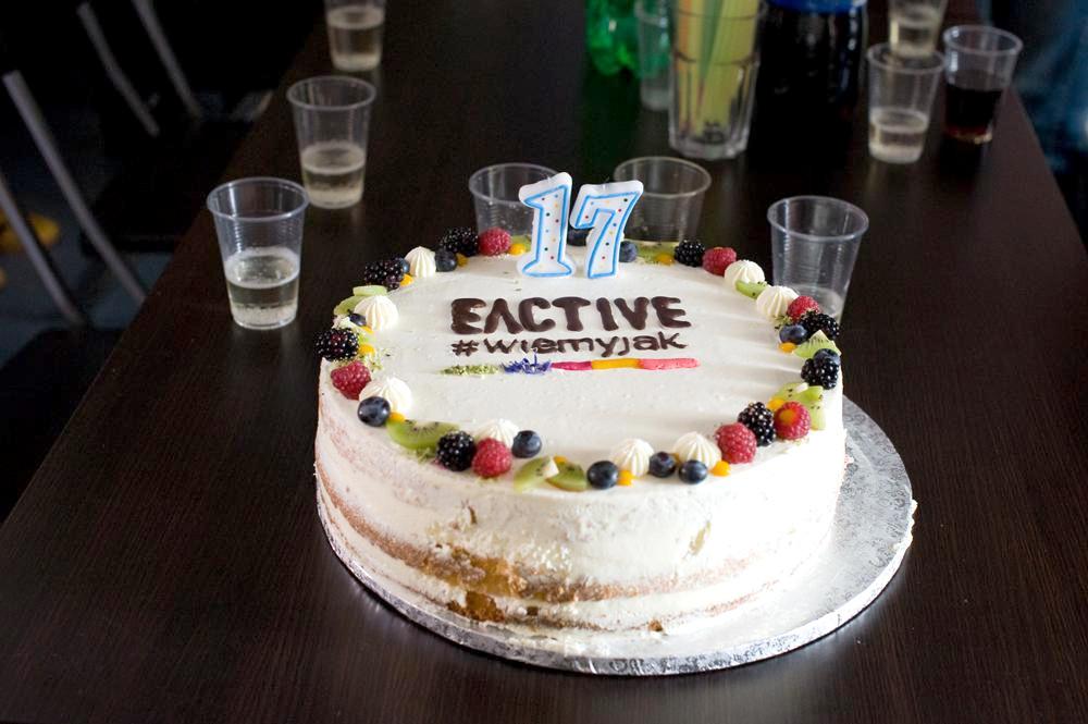 tort zokazji urodzin EACTIVE