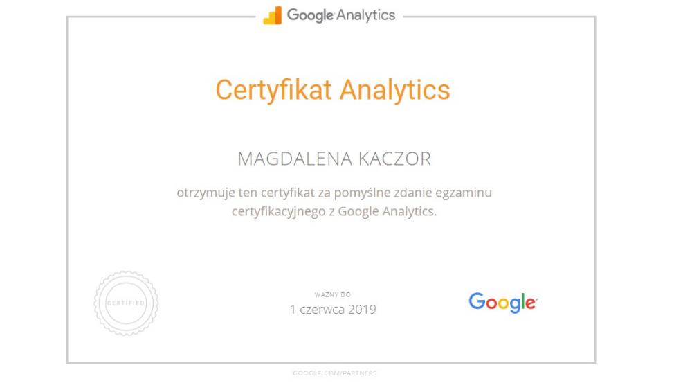 certyfikat-analytics