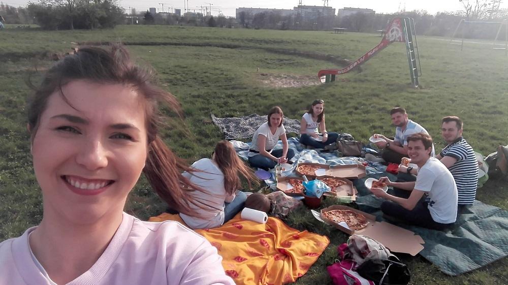 integracja na pikniku