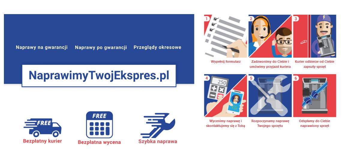 Strona NaprawimyTwojEkspres.pl - screen