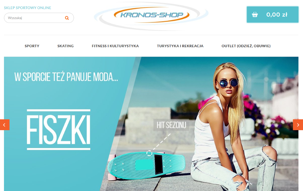 kronos-shop strona internetowa