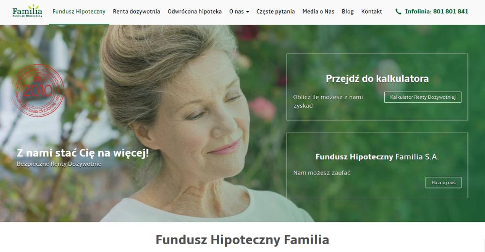 familiasa.pl - strona klienta