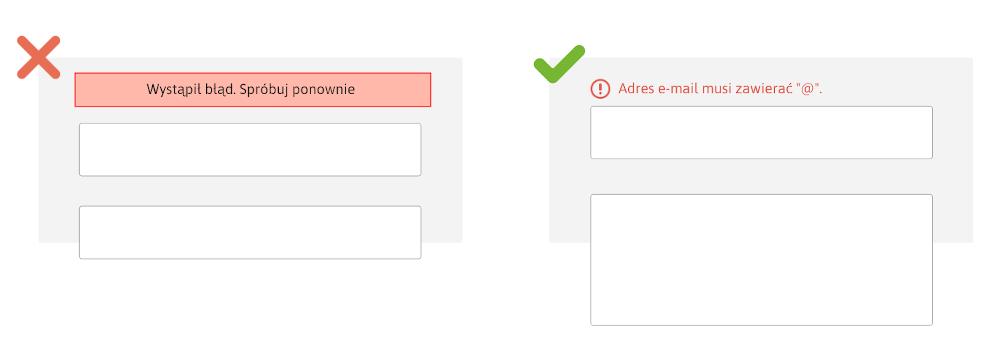 formularz - pola błędu