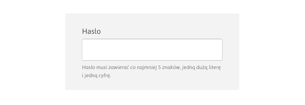 formularz - wytyczne