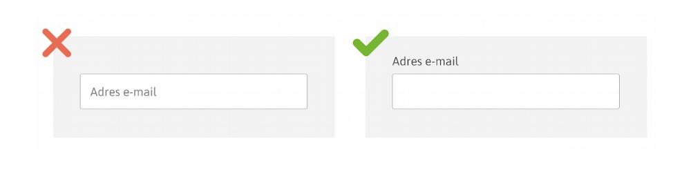 formularz - etykiety do pól