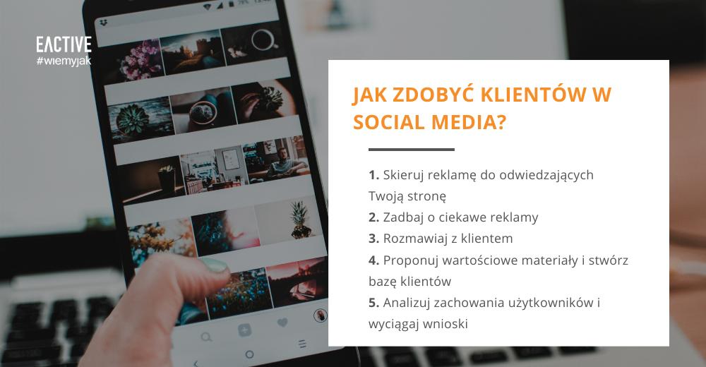 5 sposobów na zdobycie klientów w social media