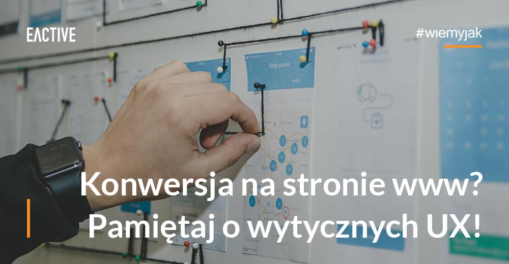 projektowanie witryn internetowych zgodnie z ux