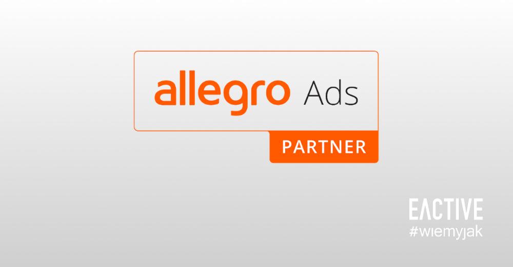 EACTIVE certyfikowanym partnerem Allegro Ads
