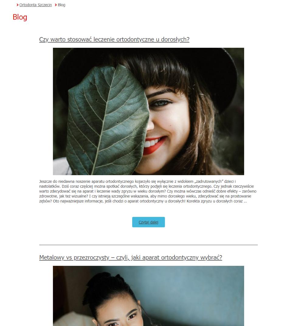 Screen-orto-magic-blog-przed-wprowadzeniem-zmian