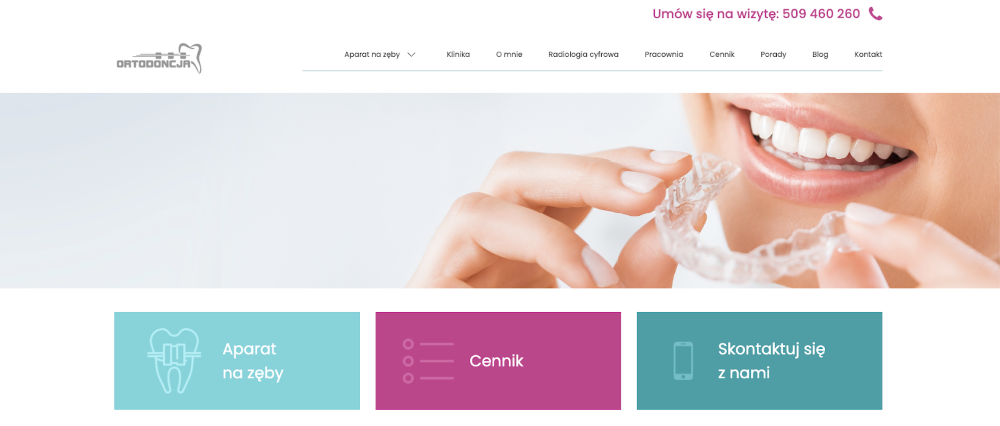 Screen-orto-magic-strona-glowna-po-redesign-strony
