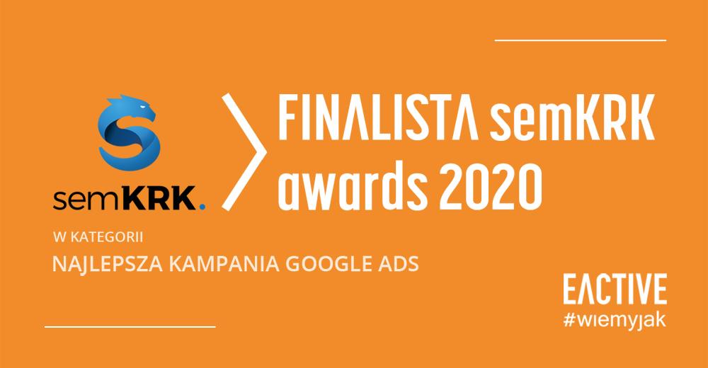 nominacja dla EACTIVE w semKRK Awards