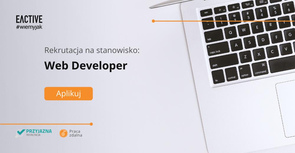 Web Developer rekrutacja