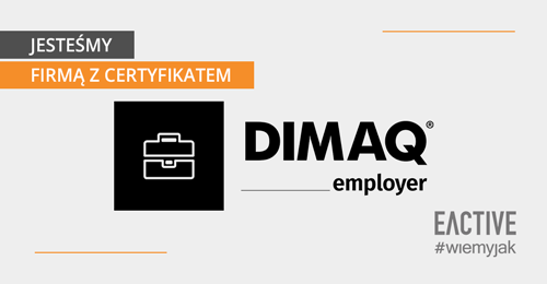 EACTIVE jako DIMAQ Employer