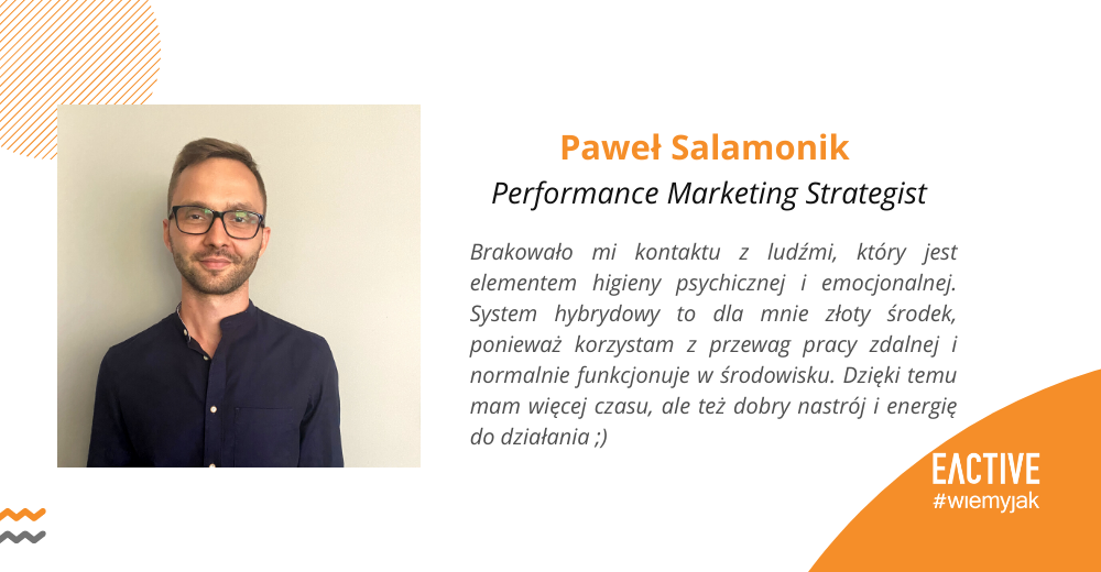 Paweł Salamonik EACTIVE