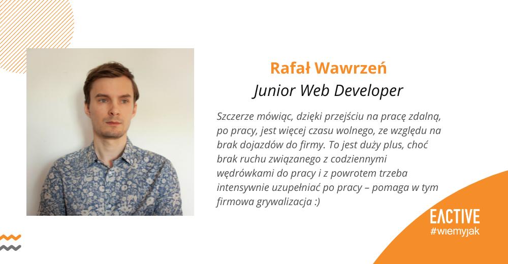 Rafał Wawrzeń EACTIVE