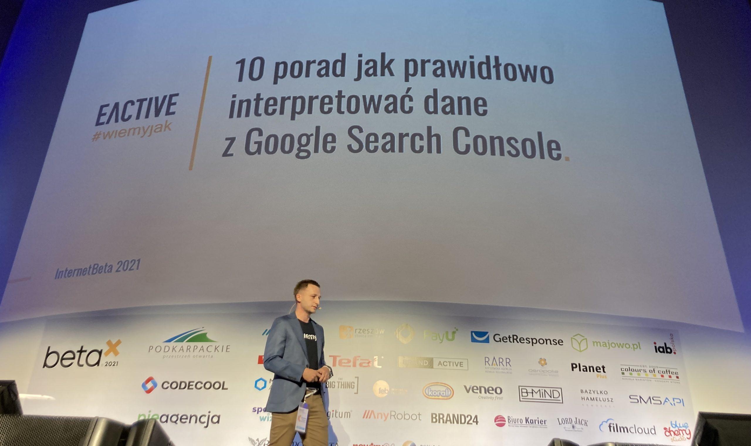 Eactive na Konferencji InternetBeta 2021